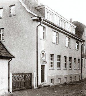 Historie - FREY PRINT + MEDIA - Der Firmenneubau 1931