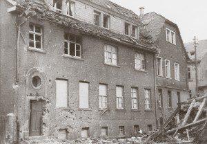 Historie - FREY PRINT + MEDIA - Firmengebäude Buchdruckerei Theodor Frey