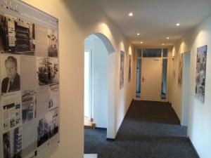 Historie - FREY PRINT + MEDIA - Die neuen Räume im Obergeschoss