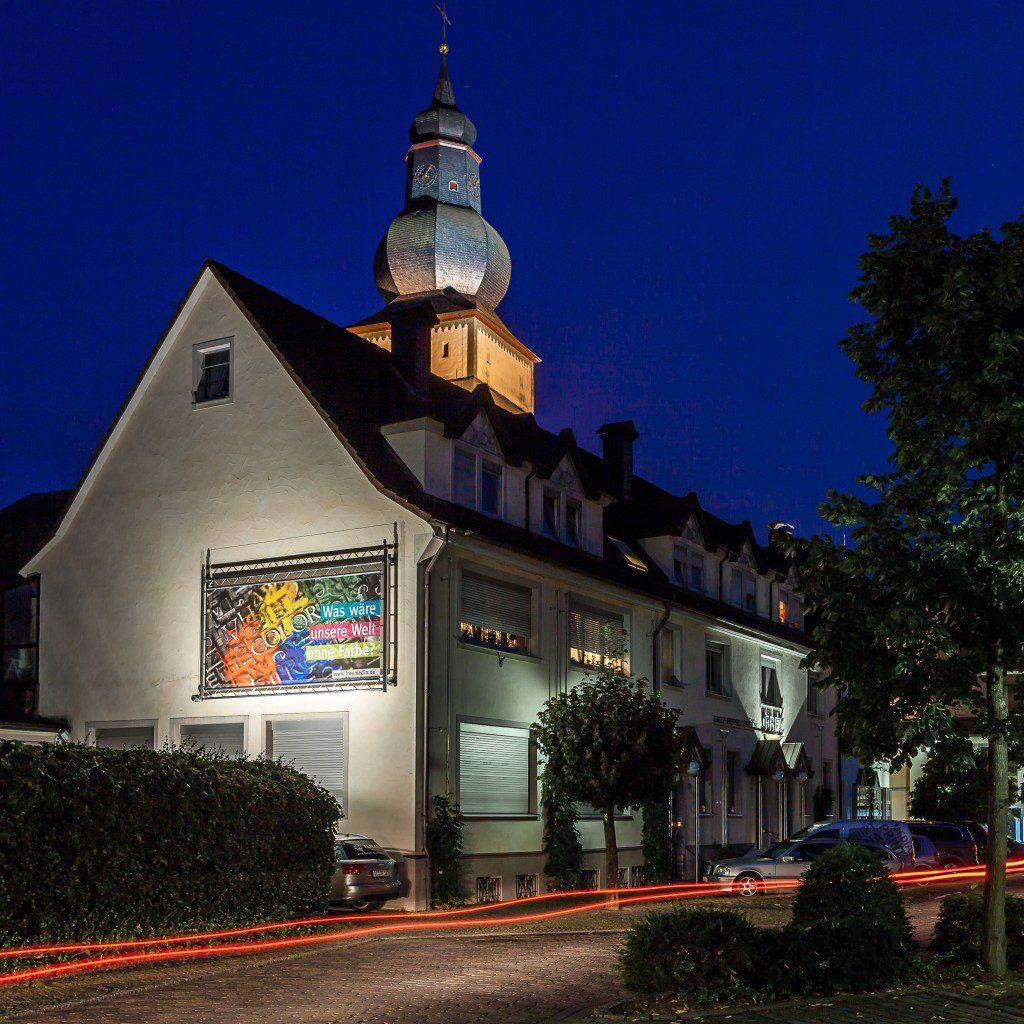 Historie - FREY PRINT + MEDIA - Frey Print + Media bei Nacht