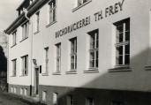 1956: Gebäude nach Wiederaufbau | FREY PRINT + MEDIA