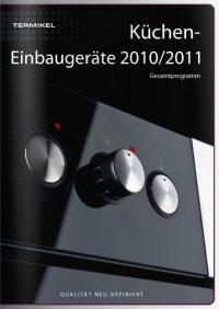 Einbaugeräte-Katalog-Termikel - Küchentechnik
