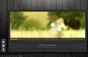 Kleine Homepage für Freiberufler Nina Frey von FREY PRINT + MEDIA