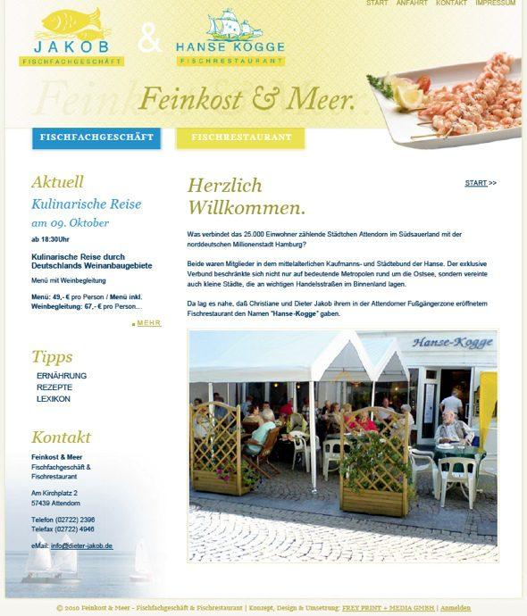 Jakob Feinkost & Hanse-Kogge - Fischrestaurant Attendorn