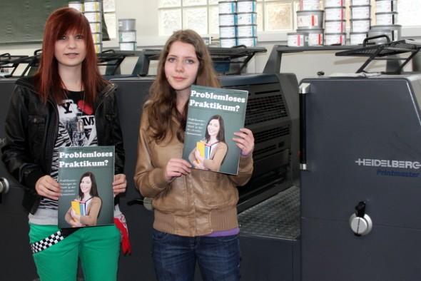 Praktikumszeitschrift drucken im Schülerpraktikum bei FREY PRINT + MEDIA