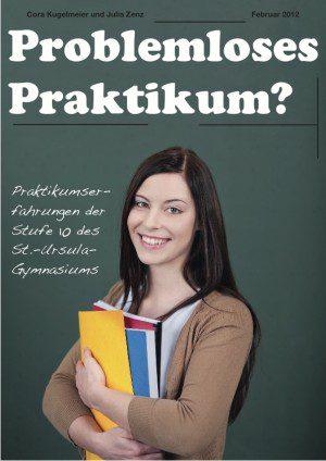 Praktikumszeitschrift drucken für das St-Ursula Gymnasium von FREY PRINT + MEDIA