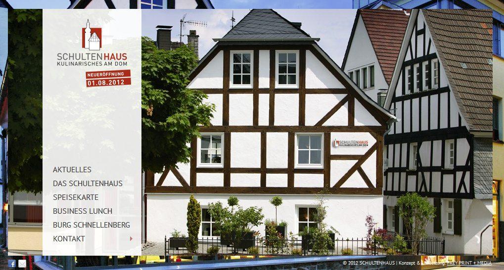 Schultenhaus - Attendorn - Kulinarisches am Dom