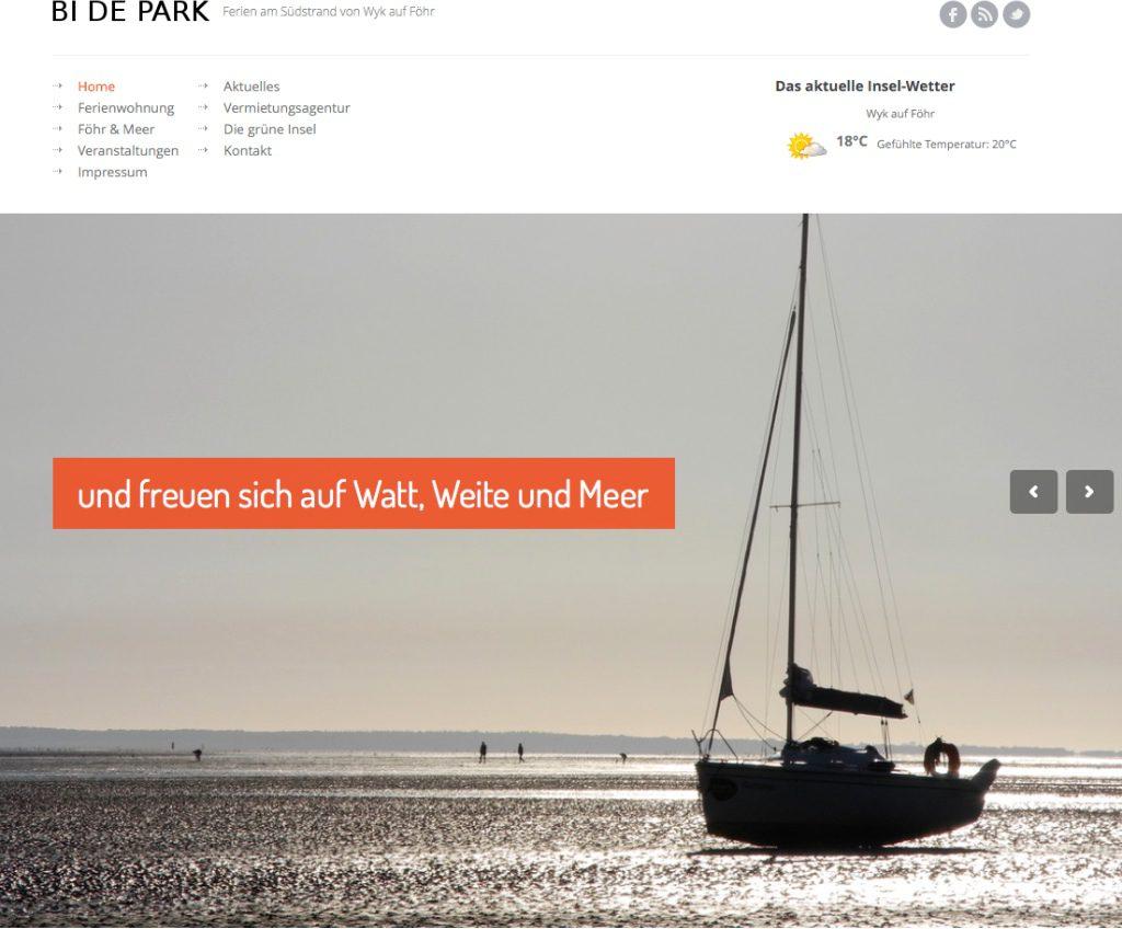 Ferienwohnung - Wyk auf Föhr - Südstrand | Weltnaturerbe Wattenmeer