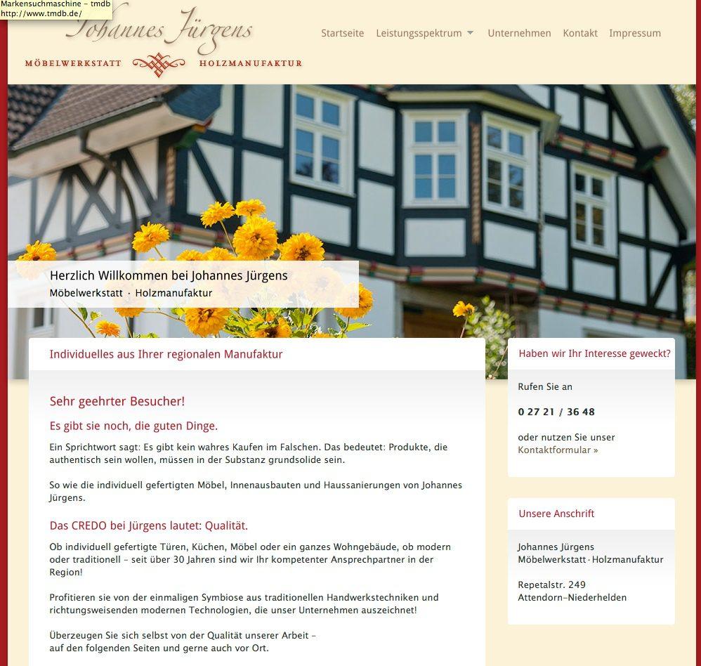 Johannes-Juergens - Holzmanufaktur