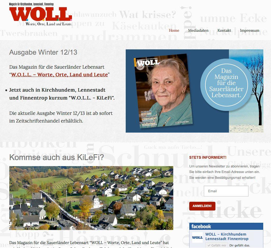 WOLL - Kirchhundem Lennestadt Finnentrop