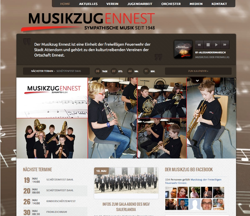 Musikzug-Ennest-Screenshot