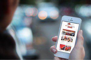 Mobile Webseite für Fahrschule Matthias Kreutz von FREY PRINT + MEDIA