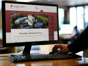 Neue Homepage Gymnasium für das St. Ursula Gymnasium Attendorn von FREY PRINT + MEDIA
