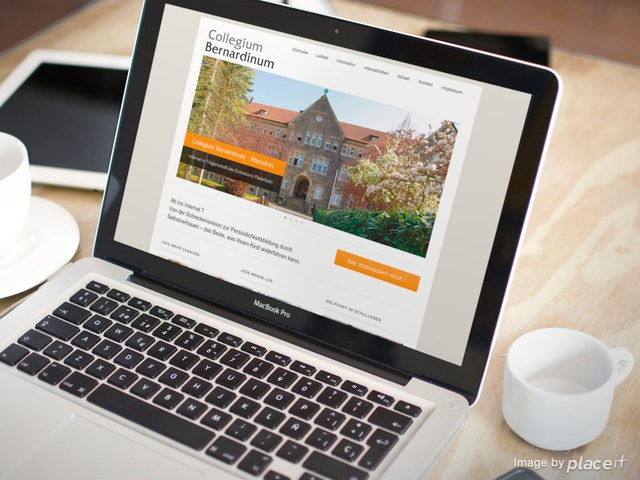 Webseite Collegium-Bernardinum