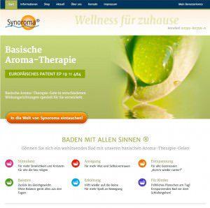Konzepterstellung für einen kleinen Online-Shop für die Firma Synoroma von FREY PRINT + MEDIA
