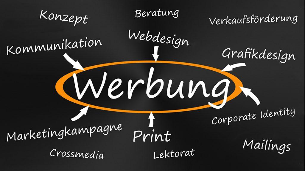 Konzept + Design - Schlagwort WERBUNG FREY PRINT + MEDIA