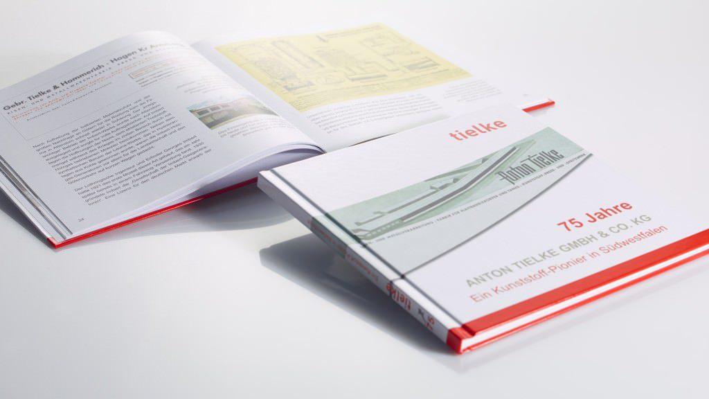 Hardcover 75 Jahre Tielke - freymedia.de
