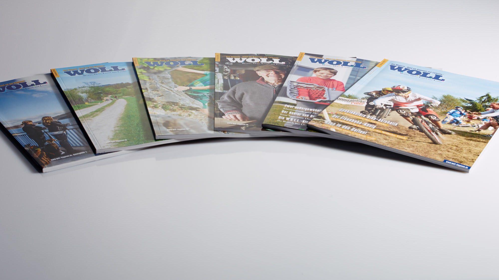 Magazin gestalten und drucken aus der Druckerei von FREY PRINT + MEDIA