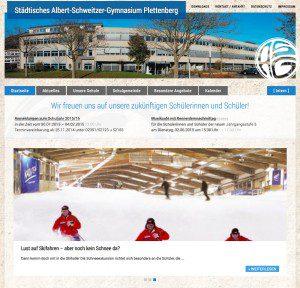 Albert-Schweitzer-Gymnasium-Sreenshot