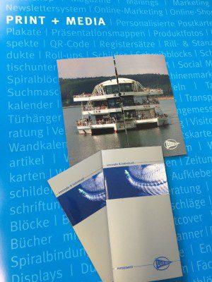 Imageprospekt mit UV-Spotlackierung für die Lux-Werft in Mondorf - gestaltet und gedruckt von FREY PRINT + MEDIA