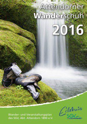 Jahresheft für Wanderverein drucken für die SGV Abteilung Attendorn von FREY PRINT + MEDIA