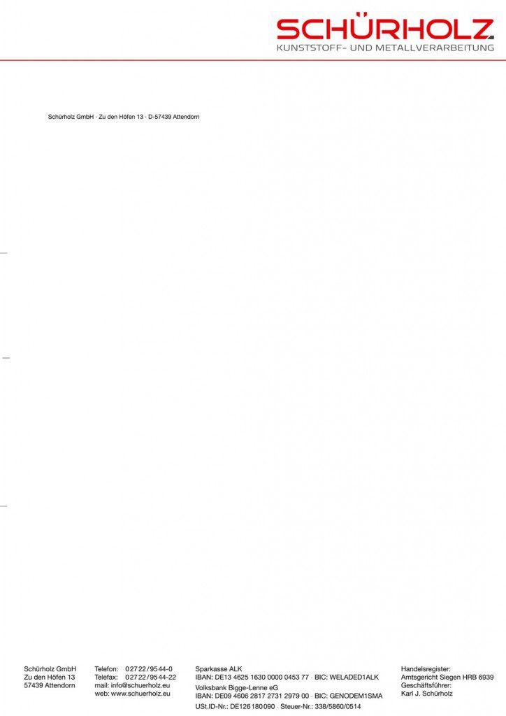 Briefbogen in Sonderfrabe HKS drucken aus der Druckerei von FREY PRINT + MEDIA