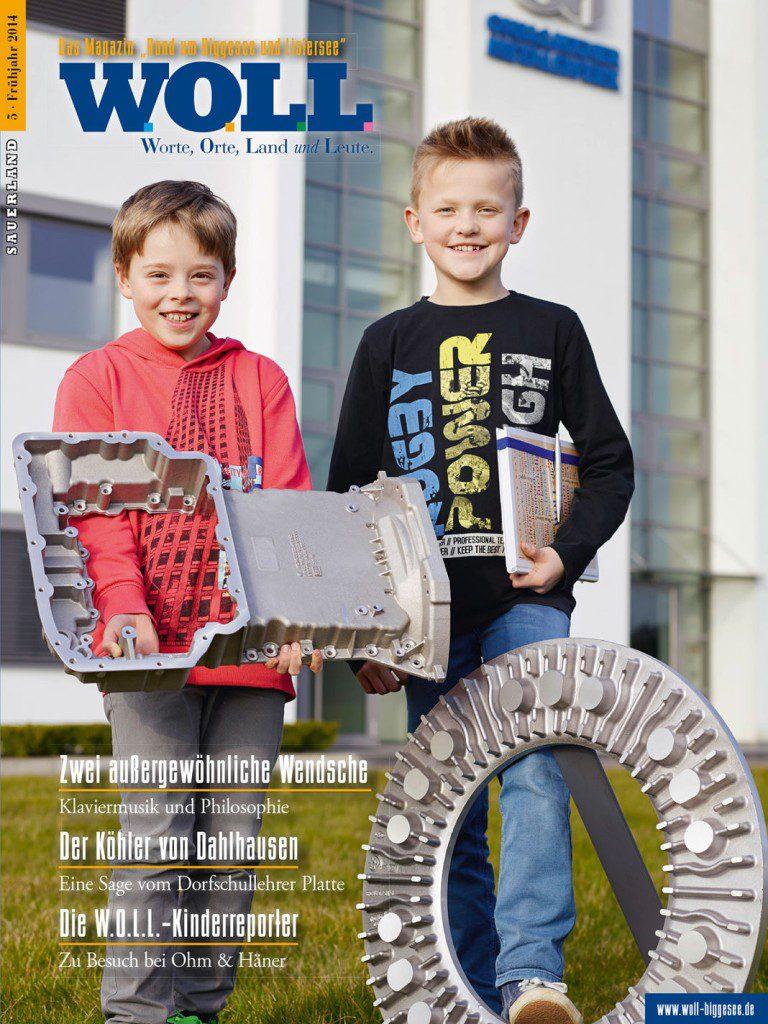 Sauerland WOLL - Sauerlandmagazin drucken aus der Druckerei von FREY PRINT + MEDIA