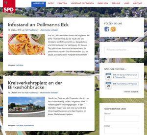 Neue Webseite für die SPD Meinerzhagen