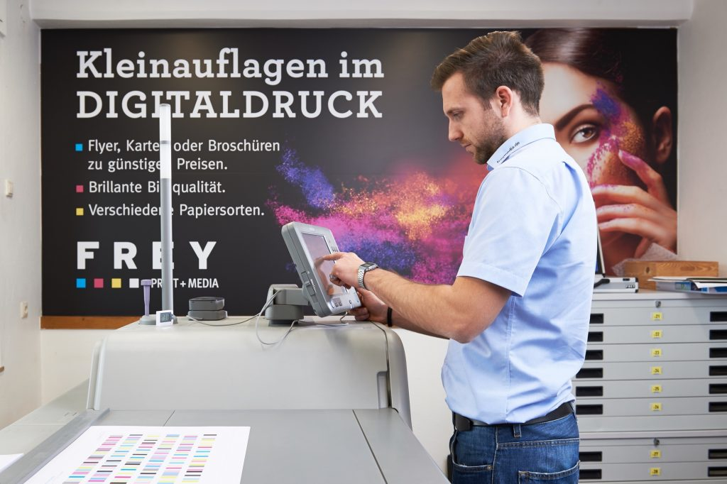 Digitaldruck Frey Print + Media
