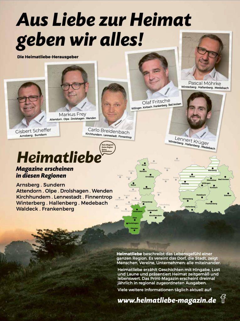 Heimatliebe-Magazin-Familie