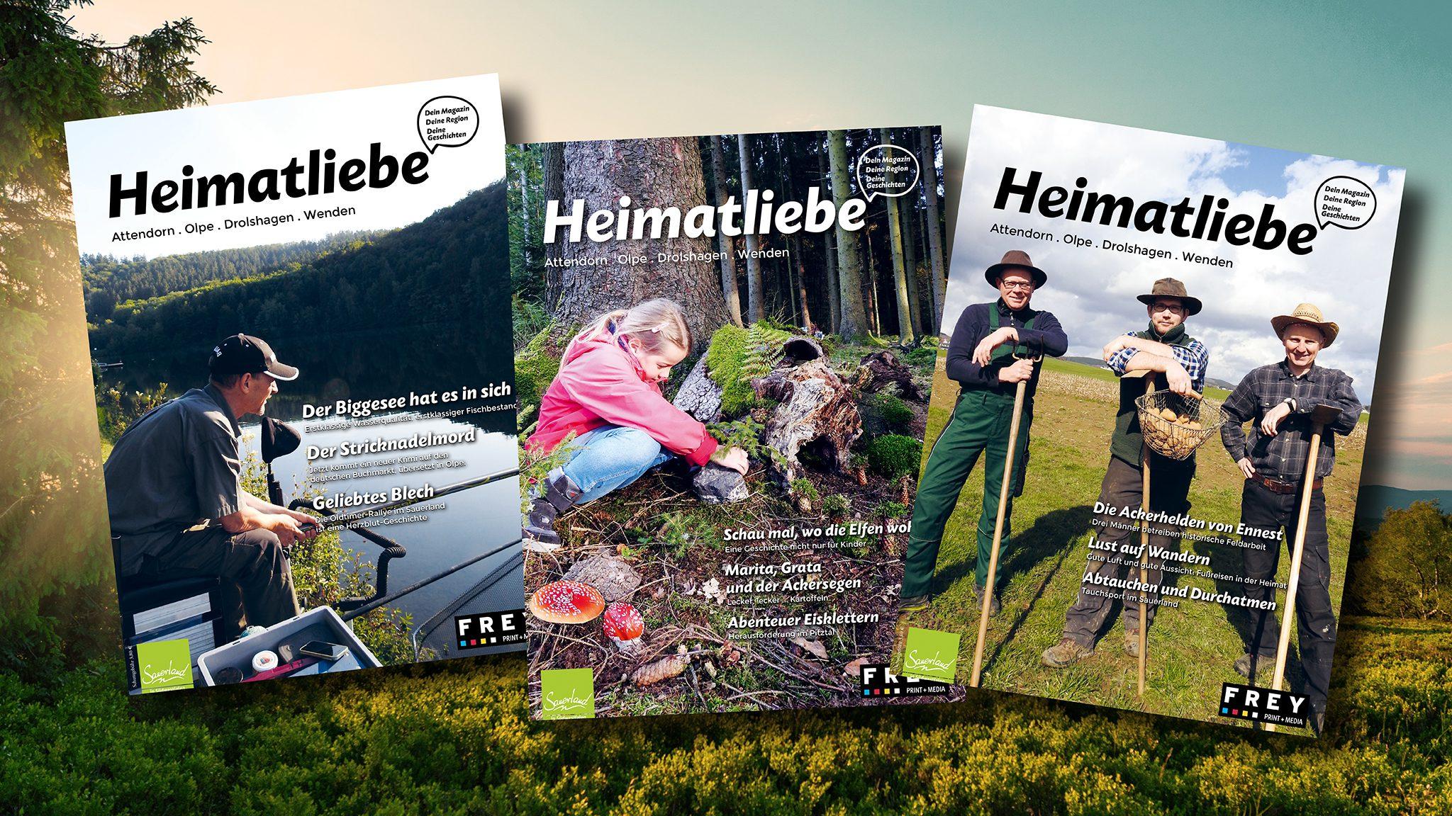 Heimatliebe - FREY PRINT + MEDIA