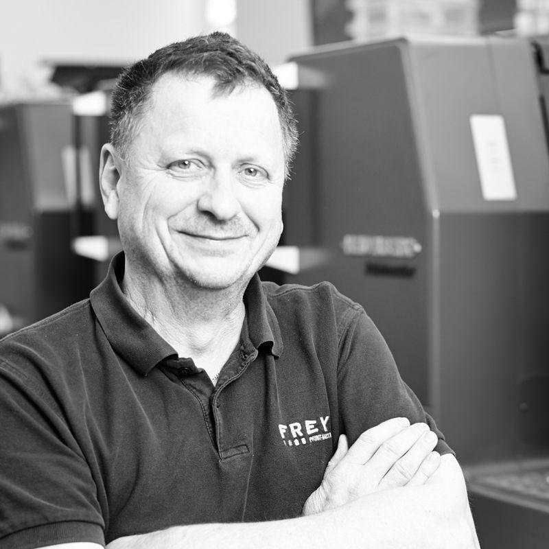 Klaus Frey – Technische Leitung